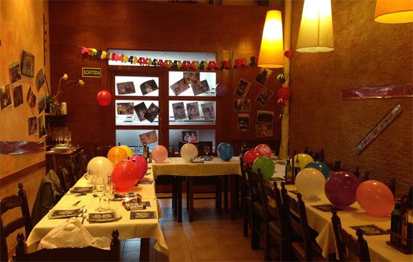 Fiestas de cumpleaños Sants